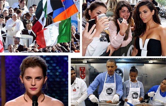 Foto: Kardashian, Bradley Cooper y el Papa entre los 100 influyentes de Time (CORDON/GETTY)