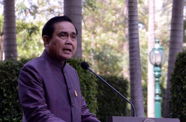 Foto: El jefe de la junta militar tailandesa dice que no quiere aferrarse al poder