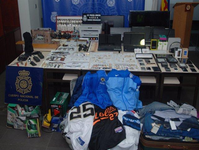 Foto: Detenidos ocho miembros de un grupo acusado de 42 asaltos a viviendas y comercios