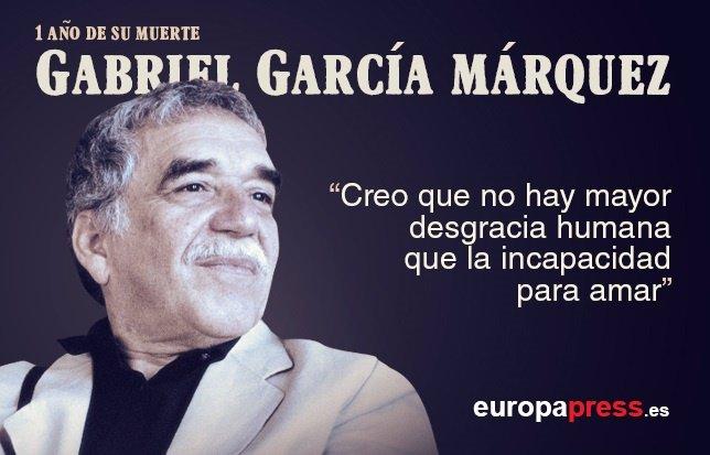 Gabriel García Márquez, un lustro sin esa mirada mágica