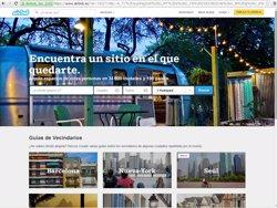 Foto: Fira.- Airbnb disposa de 85.000 allotjaments en habitatges espanyols (EUROPA PRESS)