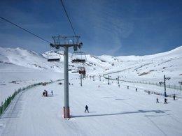 Foto: Alto Campoo cerrará sus puertas el domingo con 15.000 esquiadores más que en la pasada temporada (CANTUR)