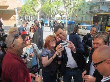 """Foto: Pedro Sánchez acusa Mas i Rajoy d'""""entendre's en el deteriorament"""" de l'Estat del Benestar (EUROPA PRESS)"""