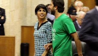 Teresa Rodríguez replica a Pedro Sánchez que Podemos quiere ser útil para los andaluces, no para el PSOE