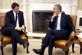 Foto: Obama y Renzi no se plantean una intervención militar en Libia (JONATHAN ERNST / REUTERS)