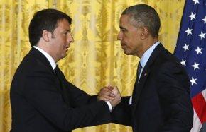 Foto: Obama y Renzi instan a Grecia a hacer reformas económicas (JONATHAN ERNST / REUTERS)