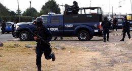 Foto: Detención del líder del Cártel del Golfo sume en el caos el norte de México (NOTIMEX)