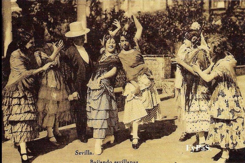 Fotos antiguas de la feria de abril de sevilla for Servicio tecnico jane sevilla calle feria