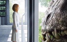 Foto: Jurassic World: Bryce Dallas Howard se enfrenta al Indominus Rex (UNIVERSAL)