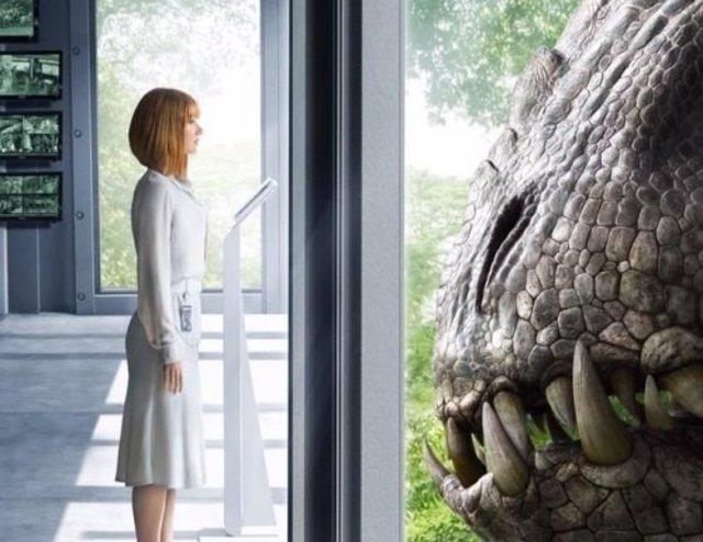 Foto: Jurassic World: Bryce Dallas Howard contra el Indominus Rex