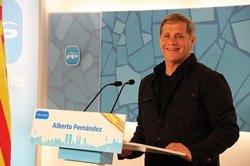 Foto: Alberto Fernández (PP) assegura que si és alcalde tirarà a terra Can Vies (PARTIDO POPULAR)
