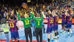 Foto: El Barça arrolla certifica su presencia en la 'Final Four' (FC BARCELONA)