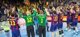 Foto: El Barça arrolla al PPD Zagreb y certifica su presencia en la 'Final Four' (FC BARCELONA)