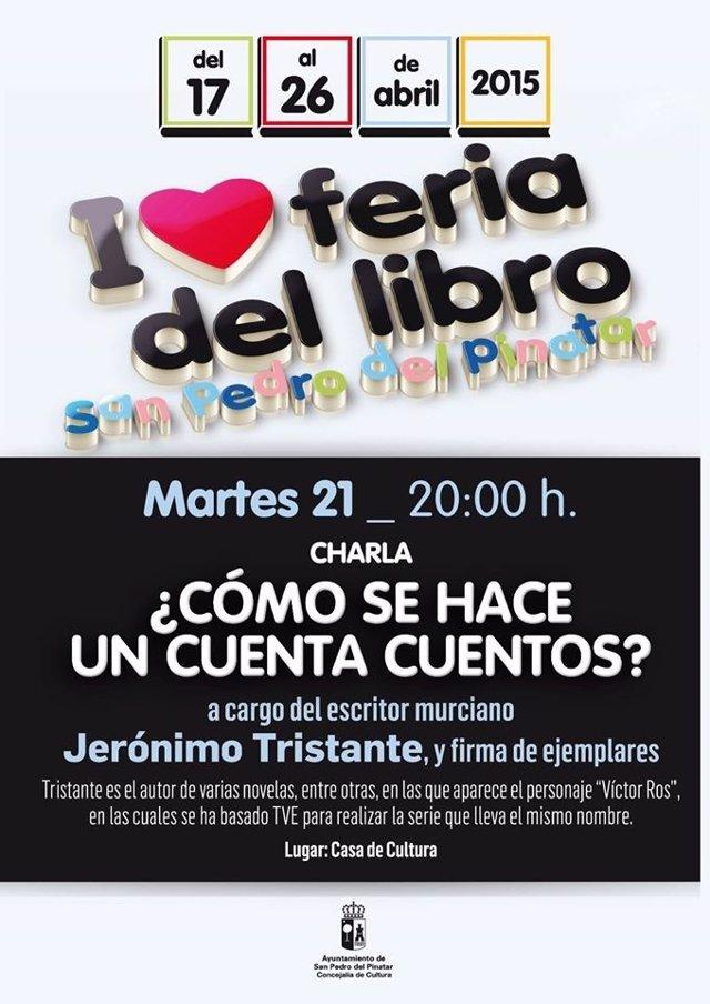 Foto: Jerónimo Tristante ofrece este martes en San Pedro la charla 'Cómo se cuenta un cuenta cuentos'