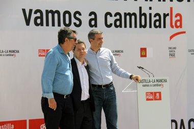 """Foto: Page eliminará """"la jornada extra que Cospedal"""" impuso a funcionarios (EUROPA PRESS/PSOE)"""