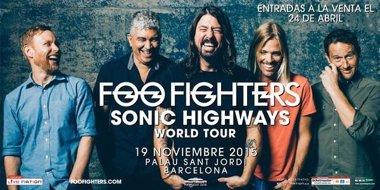 Foto: Concierto de Foo Fighters en Barcelona el 19 de noviembre (LIVE NATION)