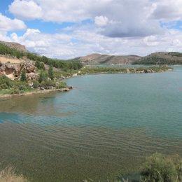 Foto: Los embalses de la Cuenca del Ebro, al 81,5% (EUROPA PRESS)