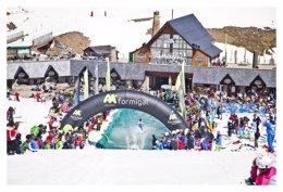 Foto: Las estaciones finalizan la temporada con más de un millón de esquiadores (ARAMÓN)