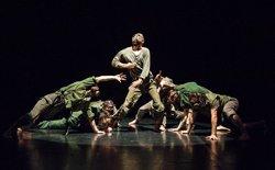 Foto: El cicle de dansa urbana Hop Evolucions promou la vessant escènica del hip hop (LLORENÇ CONEJO/MERCAT DE LES FLORS)