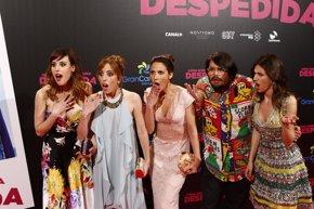 Foto: Úrsula Corberó sobrevive a una despedida en su nuevo trabajo cinematográfico (EUROPA PRESS)