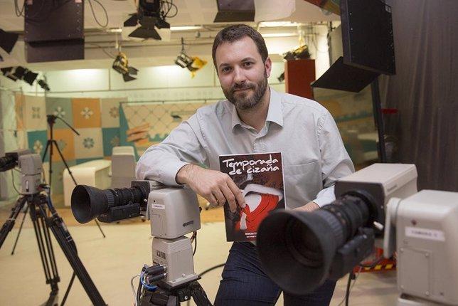 Marcos García, autor del libro