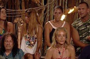 Foto: 'Supervivientes': Chabelita rompe a llorar, Elisa expulsada y Lomana continúa (TELECINCO)