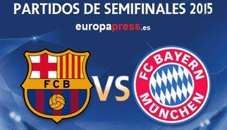 Barcelona-Bayern Munic i Juventus-Reial Madrid, duels en semifinals