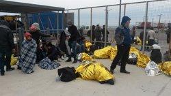 Foto: L'ONU accepta en principi el nou pla de la UE sobre immigració però demana resultats pràctics (ALEXANDROS KATAROPOULOS/MSF)