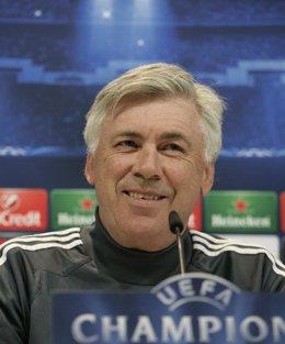 """Foto: Ancelotti: """"Tenemos mucha confianza"""" (EUROPA PRESS)"""