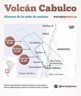Foto: El volcán Calbuco que amenaza Chile: ¿por qué entra en erupción y cuál es su historia? (REUTERS / EUROPA PRESS)