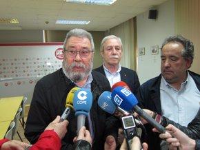 Foto: Méndez (UGT) recuerda que fue un Gobierno del PP quien vendió Santa Bárbara a General Dynamics (EUROPA PRESS)