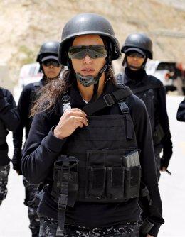 Foto: Mujeres combatientes: una realidad global (MUHAMMAD HAMED / REUTERS)