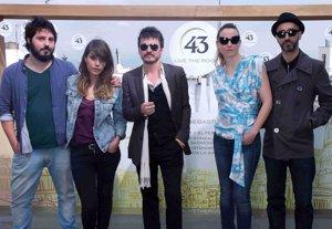 """Foto: Coque Malla, Marlango, Carmen Boza y El Kanka en la segunda edición de """"43 Live The Roof """" (EUROPA PRESS)"""