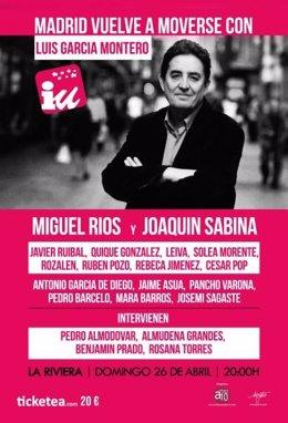 Foto: Miguel Ríos y Joaquín Sabina mueven Madrid en apoyo a Luis García Montero (CARTEL)