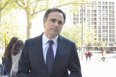 """Foto: Xavier de Pedro (PAR): """"Ahora toca que se invierta en Zaragoza"""" (EUROPA PRESS)"""