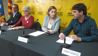"""Vila d'Abadal veu una """"oportunitat d'or"""" per saber el suport al procés"""