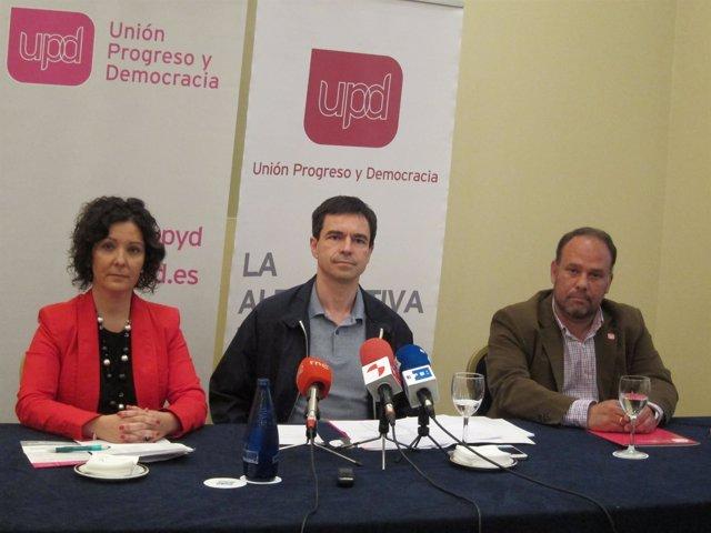 """Foto: Andrés Herzog asegura que las ideas que defiende UPyD """"son más necesarias que nunca"""""""