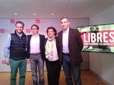 """Foto: UPyD presenta sus propuestas para """"aliviar la enorme presión fiscal"""" en Madrid (EUROPA PRESS)"""