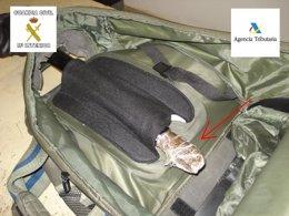 Foto: Tres detenidos en Melilla con 45 kilogramos de hachís (EUROPA PRESS/GUARDIA CIVIL DE MELILLA)