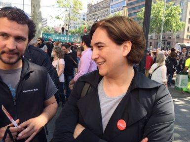 """Foto: Colau retreu a CiU """"retallades, privatització i corrupció"""" (EUROPA PRESS)"""