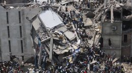 Foto: Bangladesh ha perdido 150.000 empleos desde el desastre del Rana Plaza (REUTERS/ANDREW BIRAJ )
