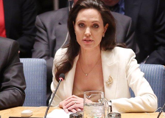 """Foto: Angelina Jolie denuncia ante la ONU la """"falta de voluntad política"""" en Siria"""