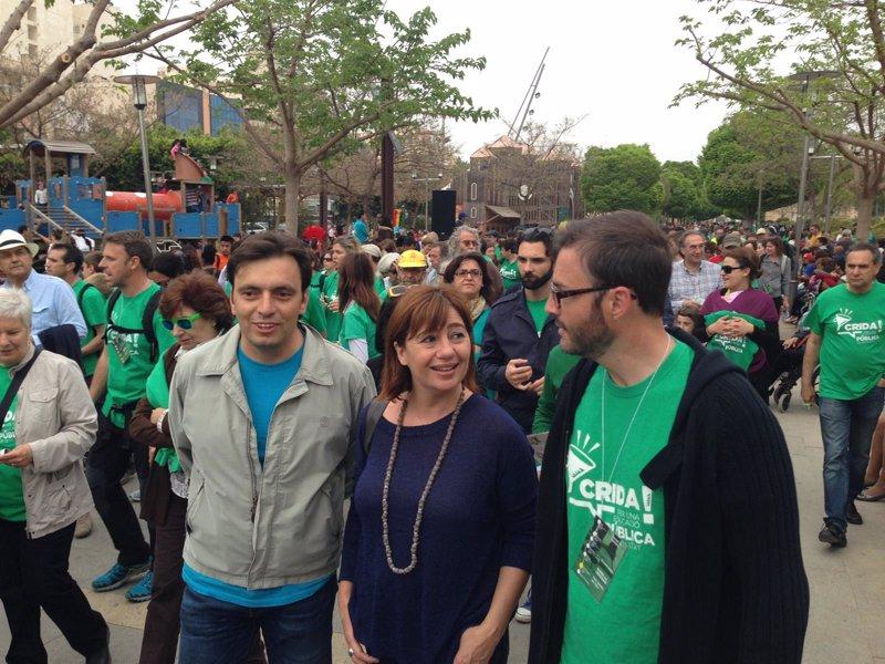 El PSIB participa en la Marcha por la Educaci�n