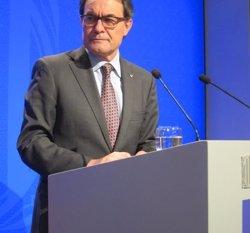 Foto: Mas demana als catalans a l'estranger suport al procés sobiranista (EUROPA PRESS)