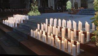 Funeral a Barcelona per les víctimes de l'avió