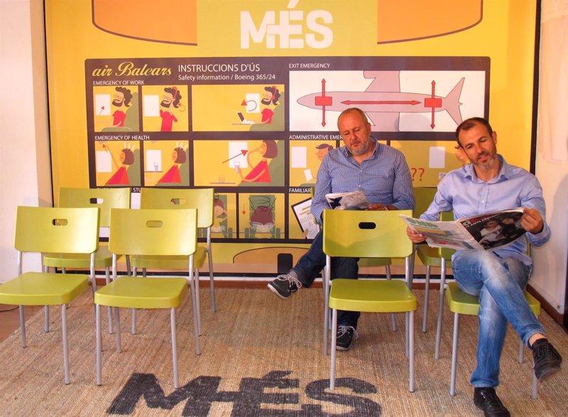 M�S propone estudiar la viabilidad de una compa��a a�rea propia de Baleares