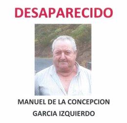 Foto: Buscan a un hombre de 66 años desaparecido en Afur (Tenerife) (CEDIDA)