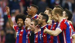 Foto: El Bayern de Múnich, campeón de la Bundesliga (REUTERS)
