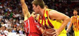 Foto: El FC Barcelona castiga al CAI Zaragoza (ACB.COM)
