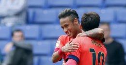 Foto: Messi se acerca a Cristiano en el Pichichi (REUTERS)
